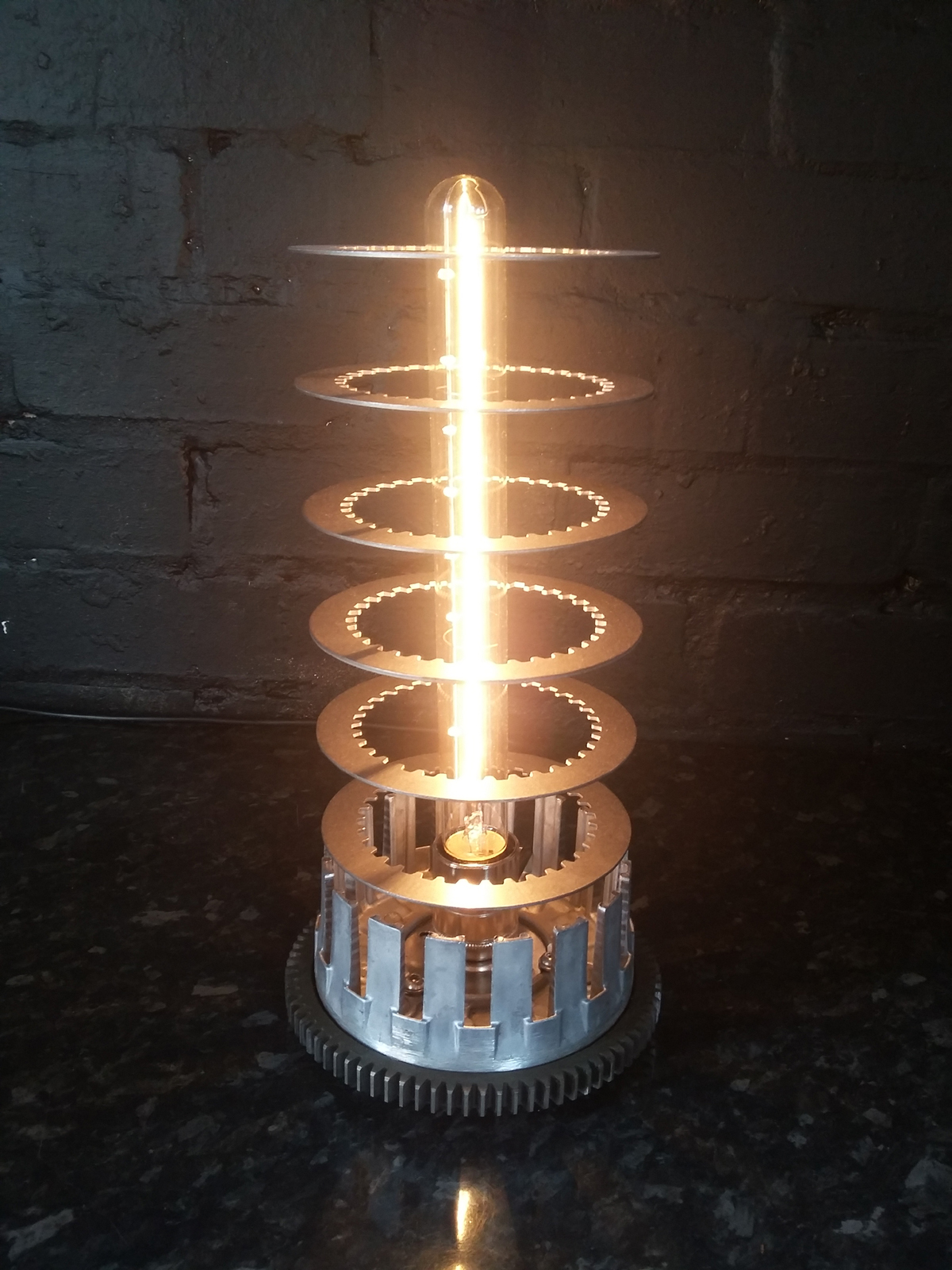 MOTORCYCLE CLUTCH EDISON FILAMENT LAMP